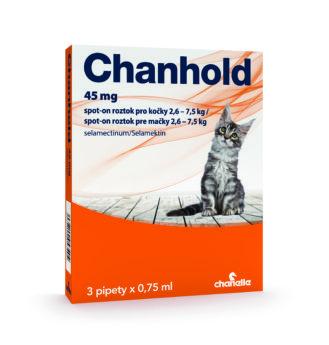 Chanhold pro kočky 2,6 - 7,5 kg