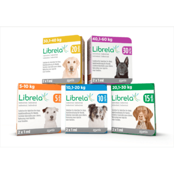 Librela 5 mg injekční roztok pro psy