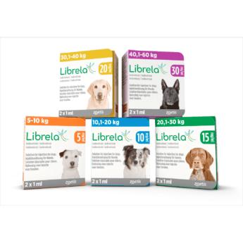 Librela 20 mg injekční roztok pro psy