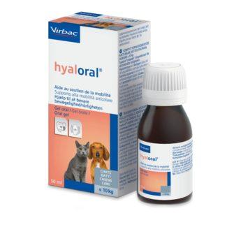 Hyaloral gel pro kočky a malé psy