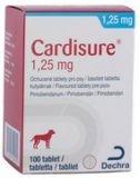 Cardisure 1,25 mg, ochucené tablety pro psy