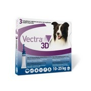 VECTRA 3D roztok pro nakapání na kůži - spot on pro psy 10 - 25kg