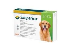 Simparica 80 mg, žvýkací tablety pro psy >20–40 kg