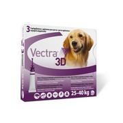 VECTRA 3D roztok pro nakapání na kůži - spot on pro psy 25 - 40kg