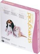 STRONGHOLD 15 mg spot-on roztok pro štěňata a koťata - růžová