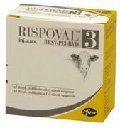 RISPOVAL 3 Lyofilizát a rozpouštědlo pro injekční suspenzi pro skot