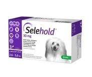 Selehold 30 mg, roztok pro nakapání na kůži - spot-on pro psy 2,6 - 5,0 kg