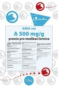 AMIX VET A 500 mg/g, premix pro medikaci krmiva