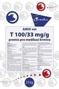 AMIX VET T 100/33 mg/g, premix pro medikaci krmiva