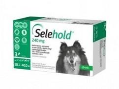 Selehold 240 mg, roztok pro nakapání na kůži - spot-on pro psy 20,1 - 40,0 kg