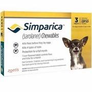 Simparica 5 mg, žvýkací tablety pro psy >1,3–2,5 kg