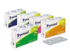 TROCOXIL 95 mg, žvýkací tablety pro psy